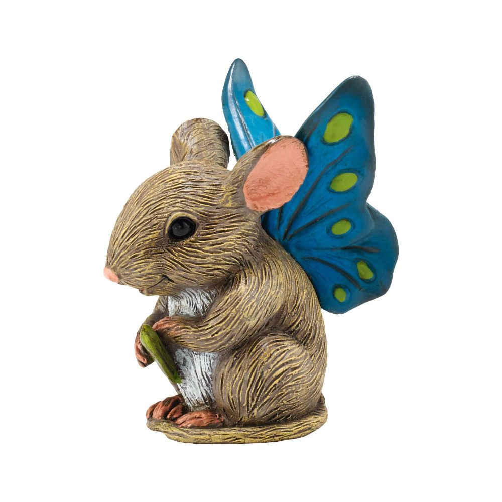 Department 56 Enchanted Guardians Squeak The Mouse Fairy Garden Figurine 4039881